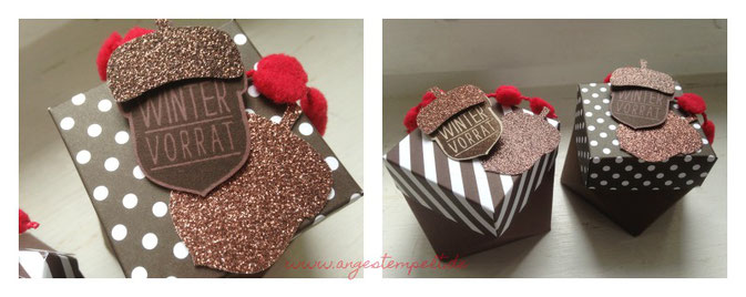 Ein Glas Mini-Nutella verbirgt sich in der süßen Box - Patricia Stich 2016
