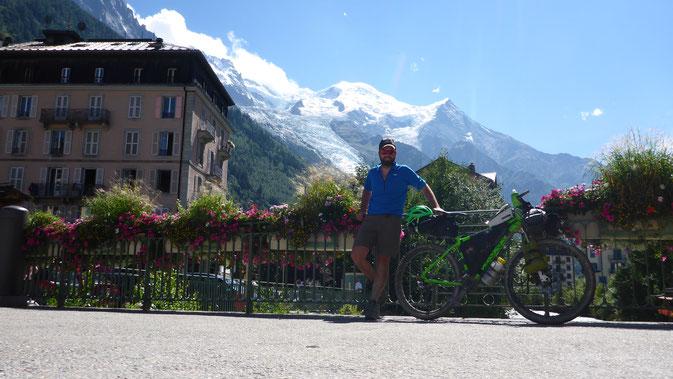 """Zurück in Chamonix nach gut fünf Tagen auf der """"Tour du Mont Blanc"""""""