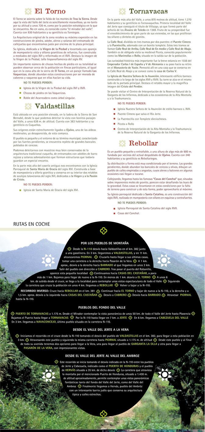 Pueblos del Valle del Jerte (2/2)