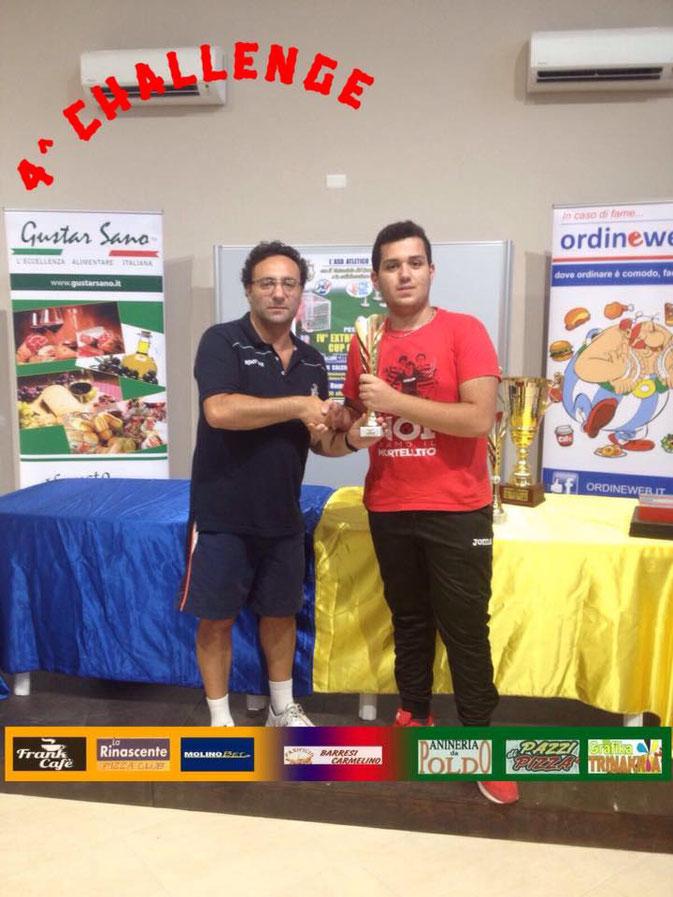 Calabrò Saso, semifinalista categoria Challenge