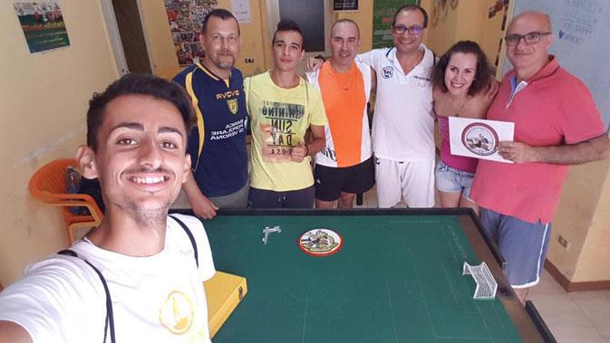 Una foto d'insieme di una porzione dei partecipanti