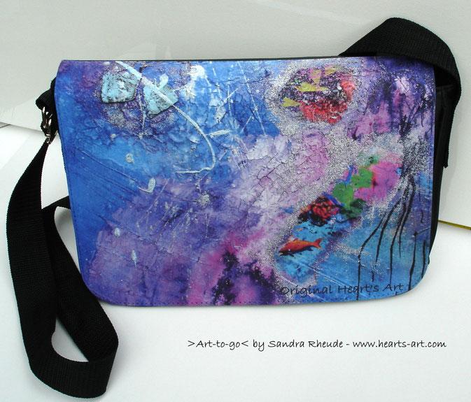 ArtBag 'Von Korallenriffen und Mondfrauenträumen' - Größe M