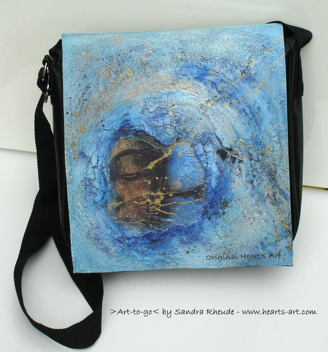 ArtBag 'Auge des Sturms' - Größe L