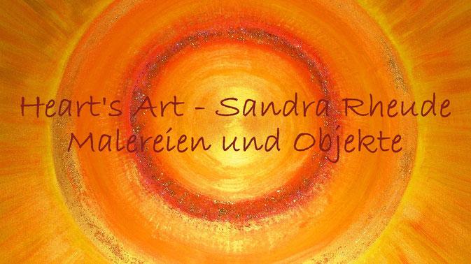 Bild: Heart's Art - Sandra Rheude - intuitive Malerei & Objekte
