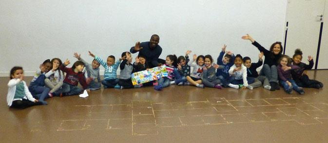 Atelier ALPHABET AFRICA à l'école Aimé Césaire à Créteil, Île de France 2012