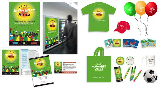 1er Festival Alphabet Africa : Promotion et merchandising