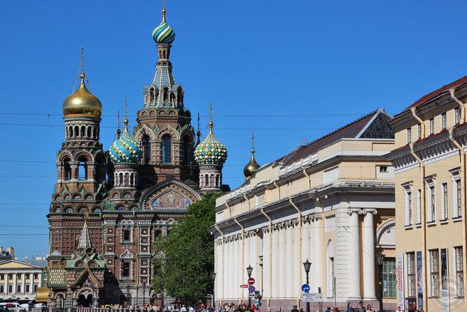 Die Blutkirche in Sankt Petersburg