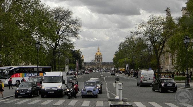 """Die """"Ente"""" darf bei einem Paris-Besuch natürlich nicht fehlen..."""