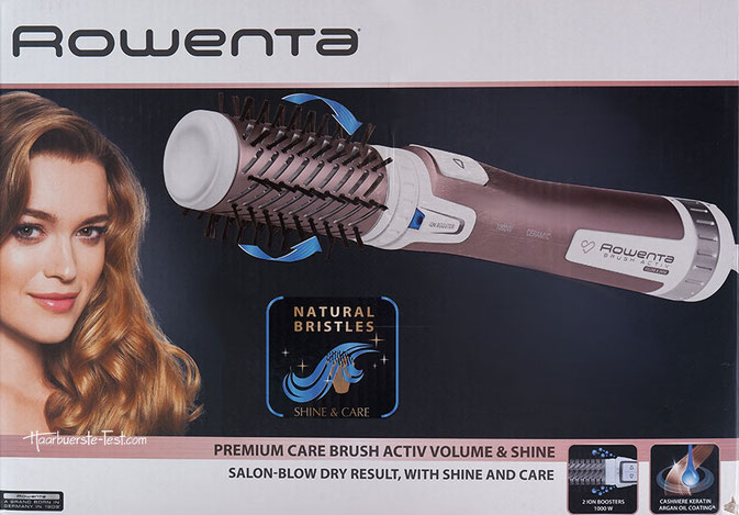 Rowenta Warmluftbürste CF9540f0 Brush Activ Premium Care
