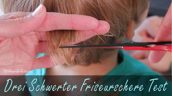 günstige haarschere, drei schwerter friseurschere, solingen schere