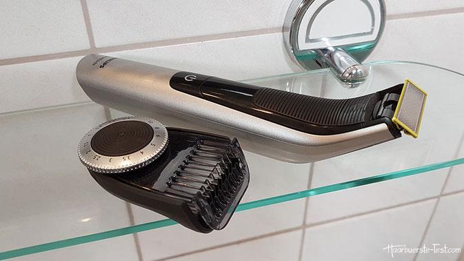 philips oneblade trimmer aufsatz, philips oneblade pro test, oneblade pro aufsatz