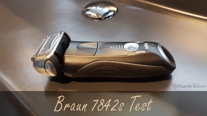 Braun Series 7 Test: Braun Rasierer 7842s im Praxis-Test