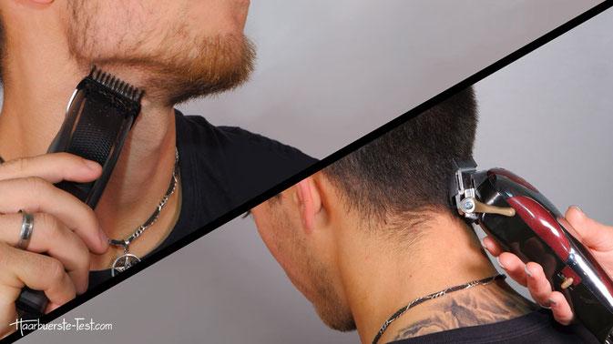 Unterschied Bartschneider zu Haarschneider