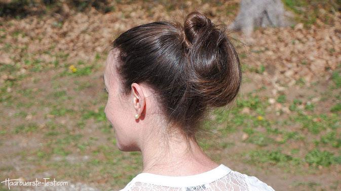 Einfache Frisur Anleitung: Einfache Frisur für lange Haare