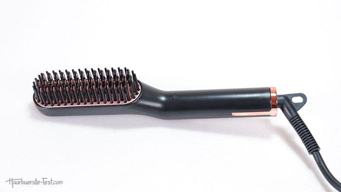 Bart haarglätter, glättbürste für bart