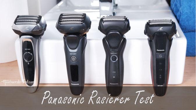 Panasonic Rasierer Test: 4 Panasonic Elektrorasierer im Praxis Tests