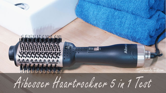 aibesser haartrockner 5 in 1 Test