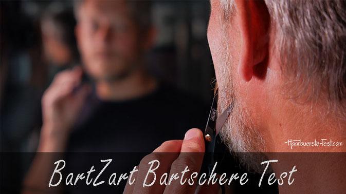 BartZart Bartschere Set Test: Die BartZart Schere ist klein, leicht und günstig. Kann sie im Praxis Test überzeugen?