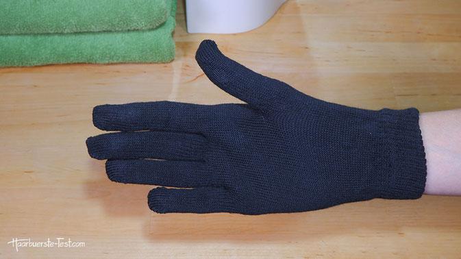 handschuh für lockenstab