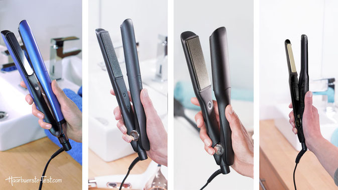 GHD Platinum Plus (Special Edition), GHD Gold Styler, GHD Max Styler, GHD Mini Styler