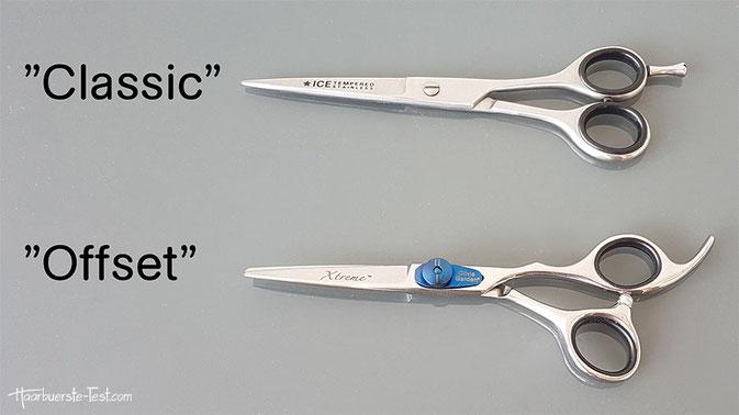 offset schere, ergonomische schere