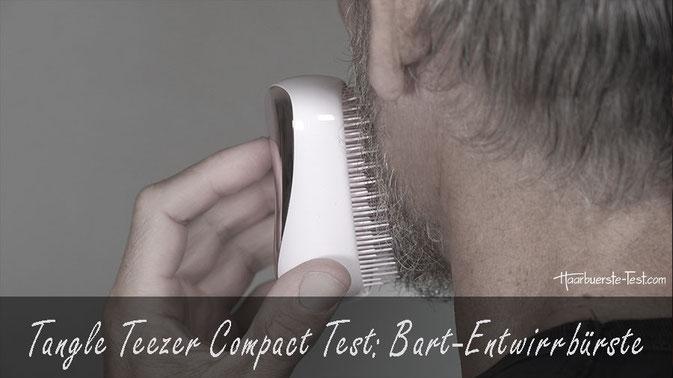Tangle Teezer Compact Test: Du hast öfter Probleme mit verknoteten oder verfilzten Barthaaren? Dann versuche es einmal mit der Tangle Teezer Entwirrbürste. Im Praxis Test ...