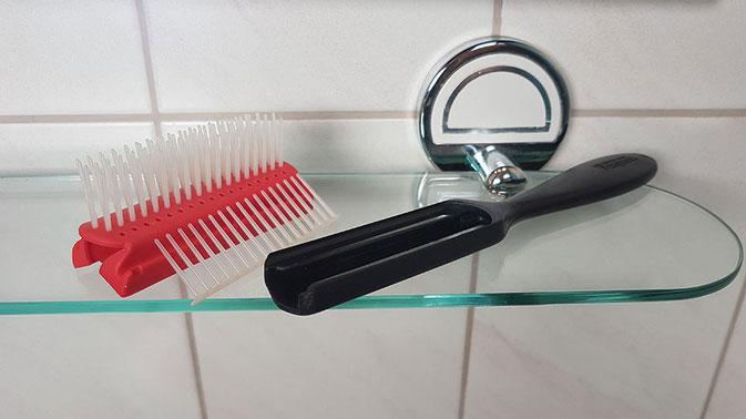 Denman Haarbürste reinigen