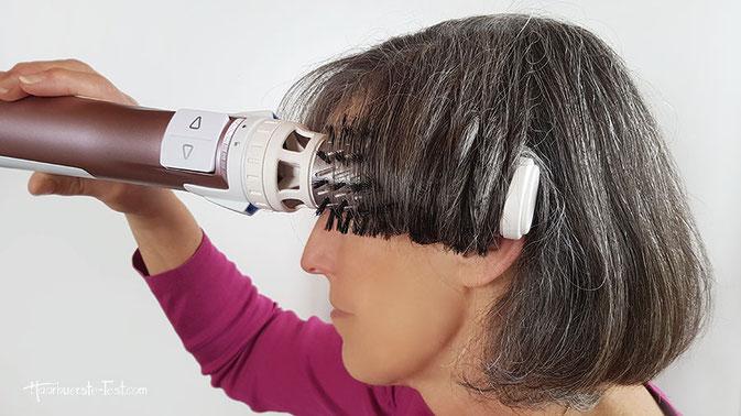 rotierende warmluftbürste kurze haare, rotierende warmluftbürste für kurze haare