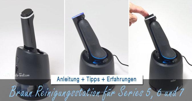 braun reinigungsstation, braun series 5 reinigungsstation, braun series 6 reinigungsstation, braun series 7 reinigungsstation