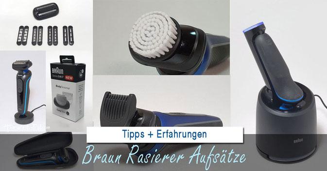Braun Rasierer Aufsatz: Alle Aufsätze im Überblick und Test