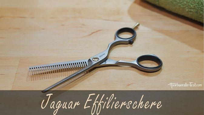Jaguar Effilierschere im Praxis-Test: Beliebte Modellierschere mit gutem Preis-Leistungsverhältnis