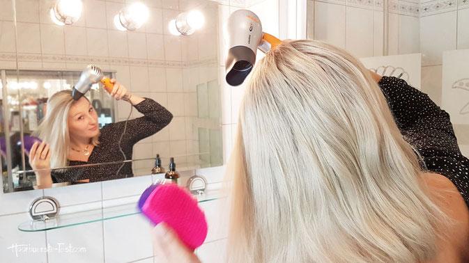 schonender Haartrockner