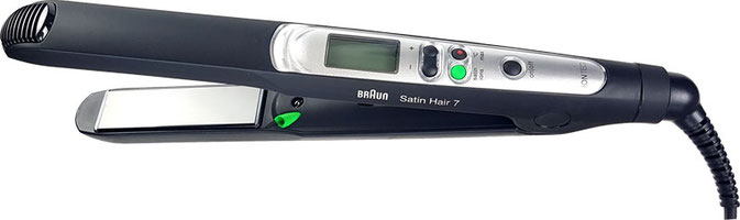 Braun Satin Glätteisen, Glätteisen Braun Satin Hair 7, Braun Satin Hair 7 Glätteisen, Braun ST710