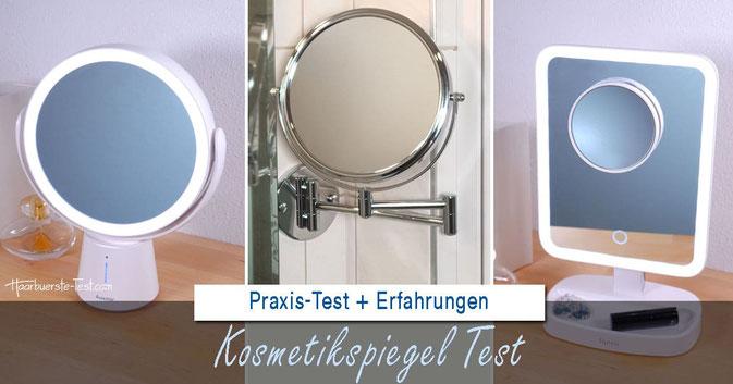 Kosmetikspiegel Test 2020: Schmink-, Kosmetik- und Rasierspiegel im Praxis Test + eigene Bilder + Erfahrungen