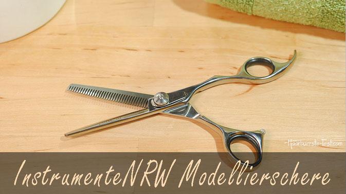 InstrumenteNRW Modellierschere: einseitige Effilierschere im Praxis-Test