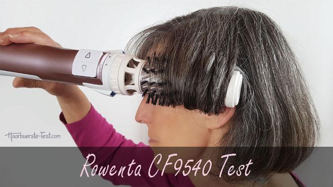 Rowenta cf9540 test, rotierende warmluftbürste test