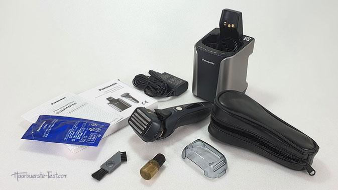 Panasonic Rasierapparat mit Reinigungsstation
