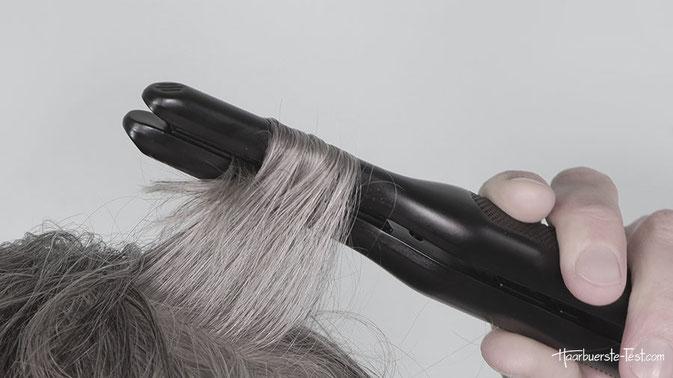 glätteisen kurze haare