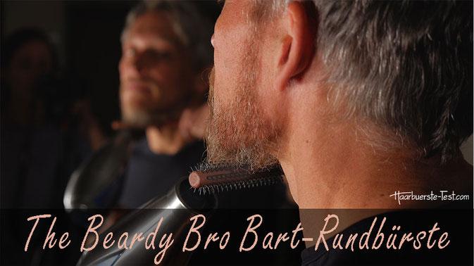 Rundbürste Bart Test: The Beardy Bro bietet spezielle Männer Rundbürsten für den Bart an. Wie gut eignet sie die Bart-Rundbürste zum Stylen? Im Praxis Test ...