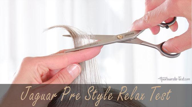 Jaguar Haarschneideschere Test: Pre Style Relax im Praxis ...