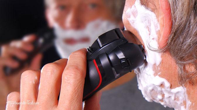 panasonic nass- und trockenrasierer, panasonic rasierer test