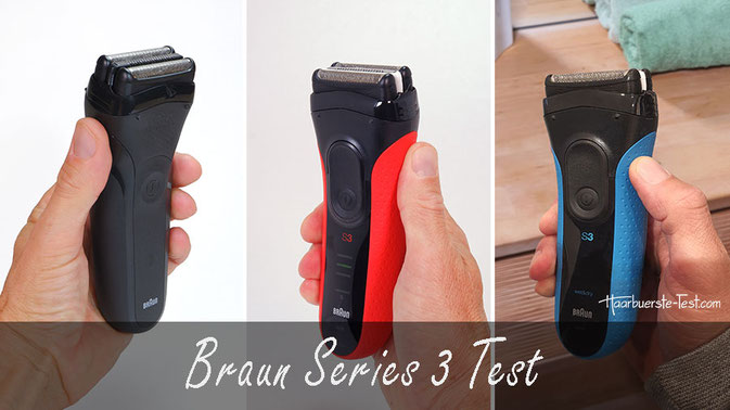 braun serie 3 test, braun series 3 test