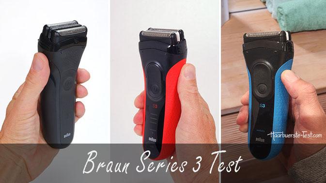 braun serie 3 test, braun series 3 test