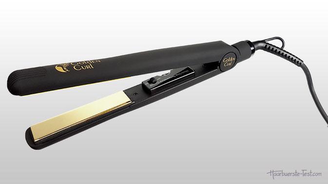 Golden Curl Glätteisen GL829, Infrarot Glätteisen, Titanium Glätteisen