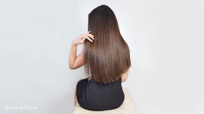Haare föhnen mit Rundbürste