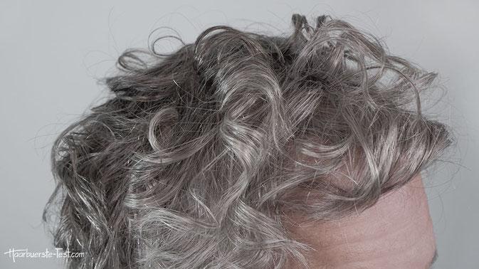 Locken mit Glätteisen kurze Haare