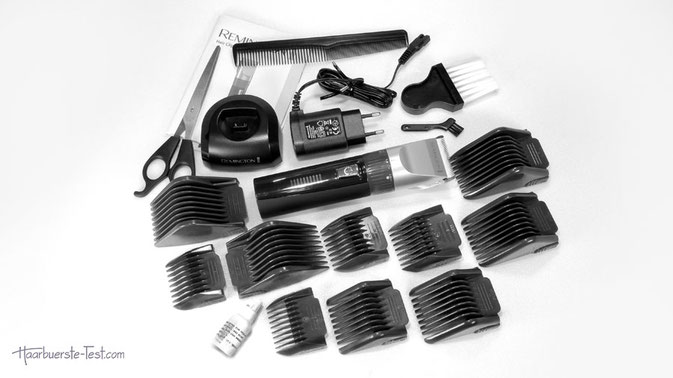 Remington Haarschneider Set, haarschneidemaschine mit keramikmesser