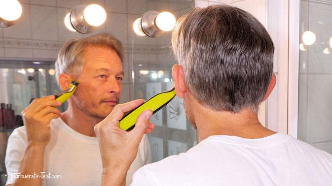 kleine haarschneidemaschine, haarschneidemaschine klein, One Blade Erfahrung