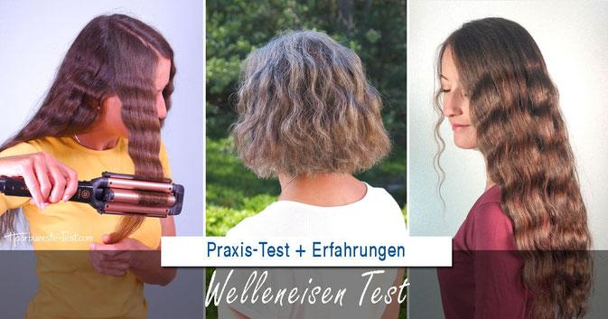 Welleneisen Test, wellen mit welleneisen, welleneisen frisur
