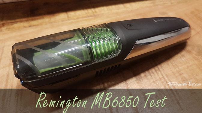 Remington MB6850 Test: ein Vakuum Bartschneider im Praxis Test